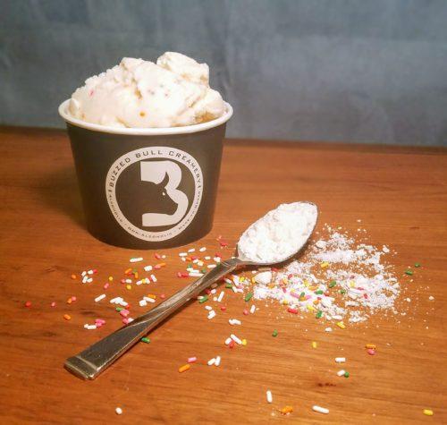 Cake Batter Flavored Ice Cream and Frozen Yogurt