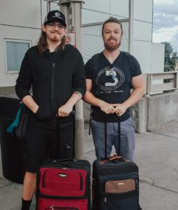 DIllon Chirch and Colten Mounce travel to Wilmington, North Carolina to train new franchisees.